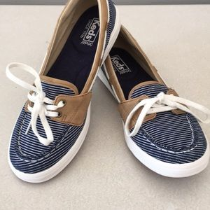 Keds ortholite glimmer  boat shoes size 8.5